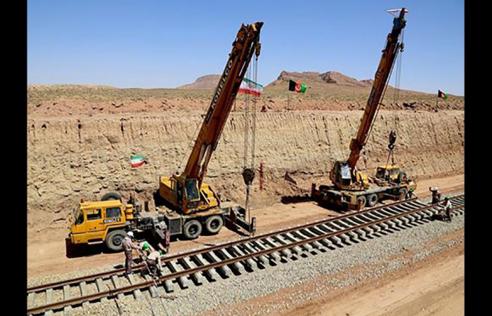 Iran-Afghanistan railway to be inaugurated next month
