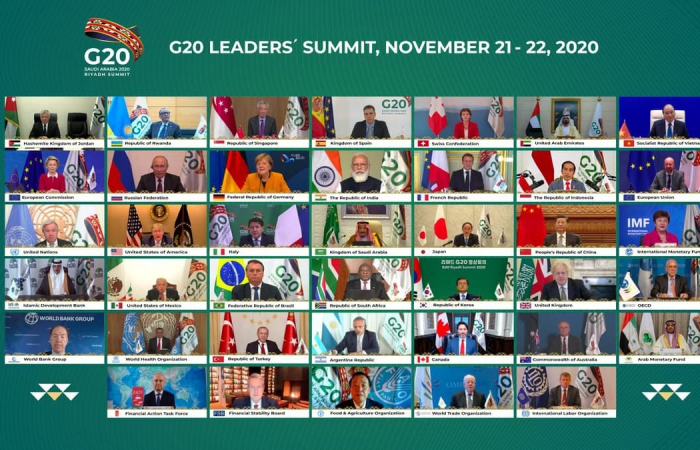 G20 summit highlights fight against coronavirus