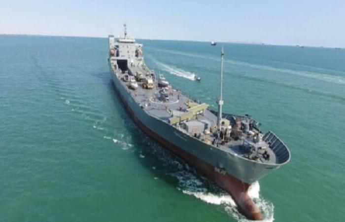 Ocean going warship joins Iran's Revolutionary Guards navy