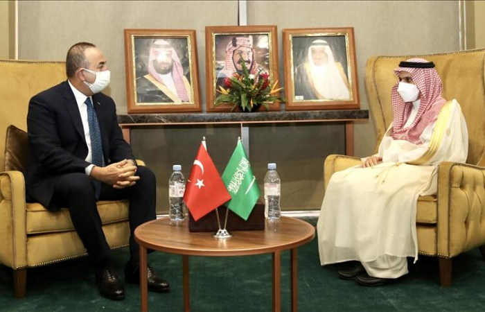 """Turkish and Saudi foreign ministers hold """"sincere meeting"""""""