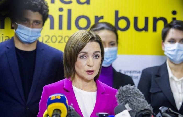 Maia Sandu wins presidential election in Moldova