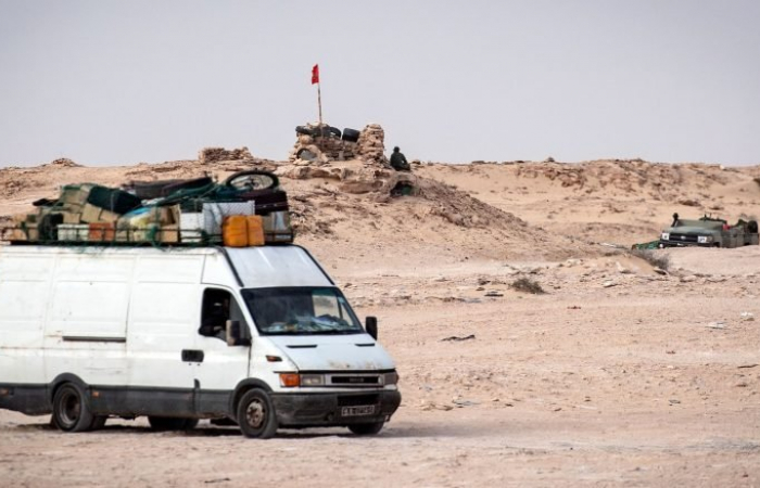 Skirmishes and tense calm in the Sahara