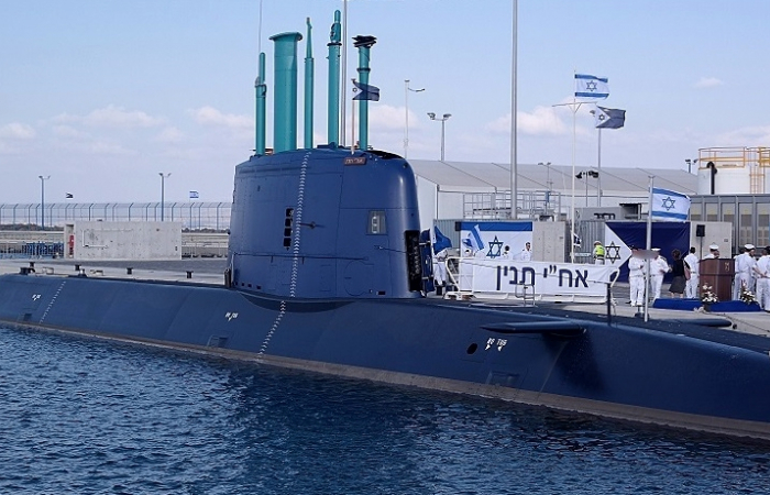 Iran issues warning after Israeli submarine passes through the Suez Canal