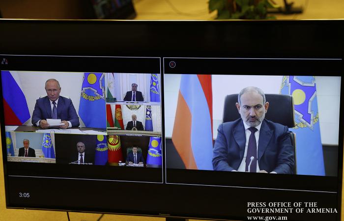 """Putin highlights Pashinyan's """"courage"""" in signing Karabakh peace agreement"""