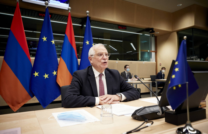EU holds high level discussions with Armenia and Azerbaijan amid signs it is preparing to step up its engagement on Karabakh issues