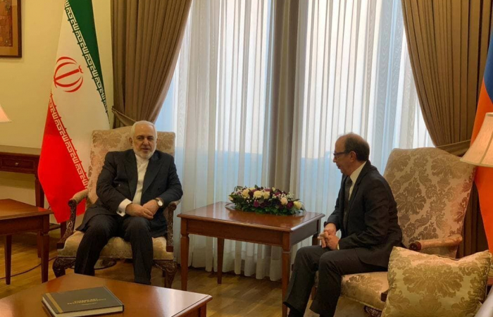 Iranian foreign minister in talks in Yerevan on South Caucasus issues