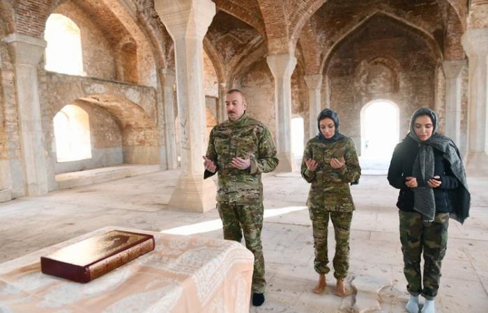 """Aliyev: """"The great return begins"""""""