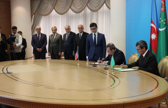 Historic agreement on Caspian Sea co-operation between Azerbaijan and Turkmenistan