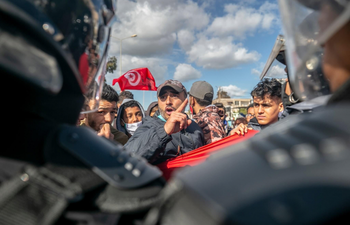 In Tunisia a government reshuffle amid street protests, and a growing political crisis