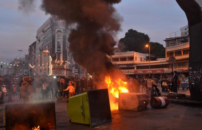 Violence in Lebanon amid anti-lockdown protests