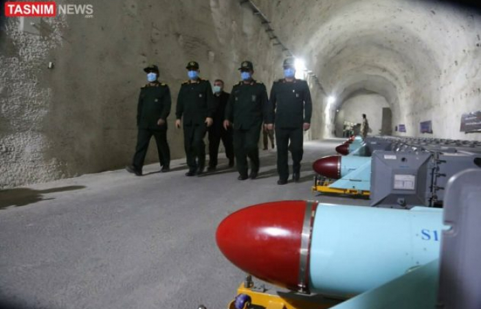 Iran unveils new missile silos on the shores of The Gulf