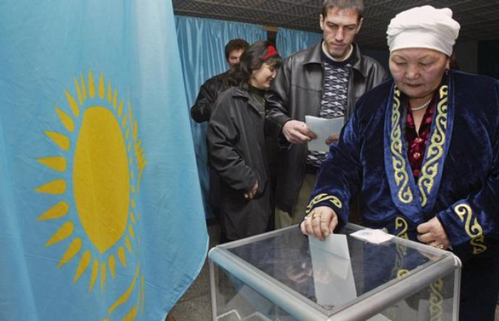 Kazakhstan holds parliamentary elections