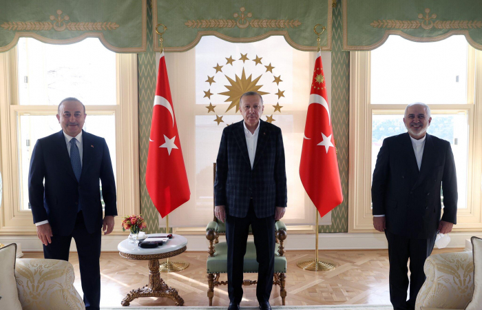 Iranian foreign minister concludes regional tour with a meeting with the Turkish president