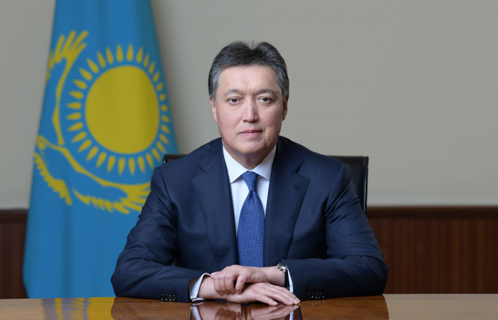 Askar Mamin re-elected as Kazakh Prime Minister
