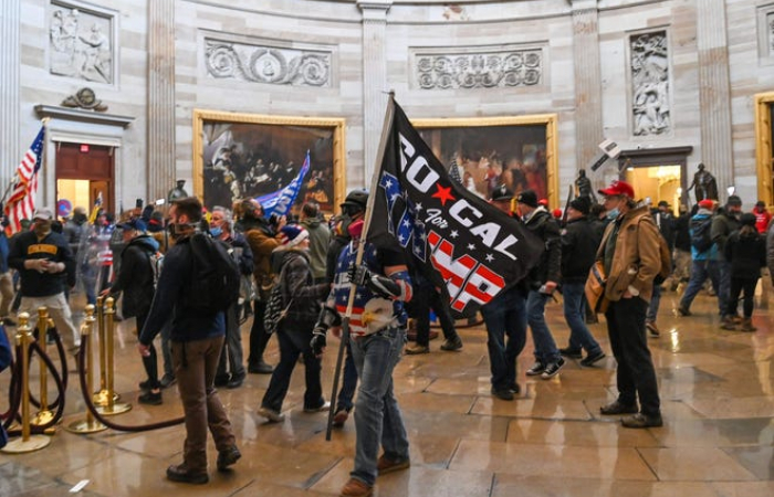 Trump supporters storm US Congress (Updated)