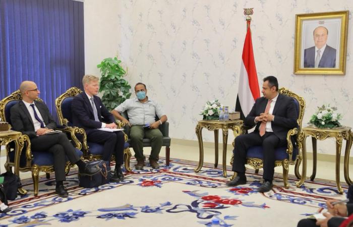European ambassadors visit Aden to express support for legitimate Yemeni government