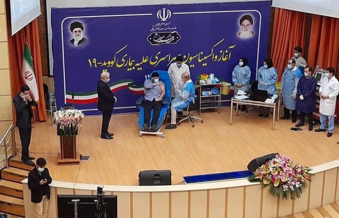 Iran begins its COVID-19 vaccination