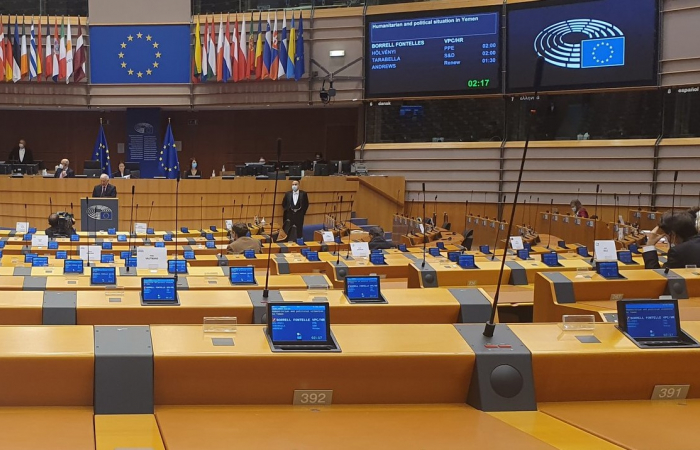 European Parliament discusses Yemen; calls for increased humanitarian assistance and confidence-building measures