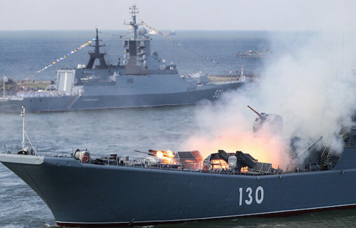 Iran and Russia conduct joint naval exercises in the Indian Ocean