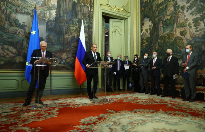 Borrell and Lavrov try to find common ground