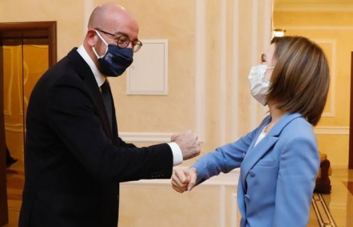 """Charles Michel to the Moldovans: """"EU is a reliable partner of Moldova. You can count on us!"""""""