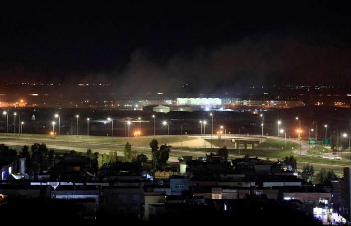 Rocket attack on US base in Erbil
