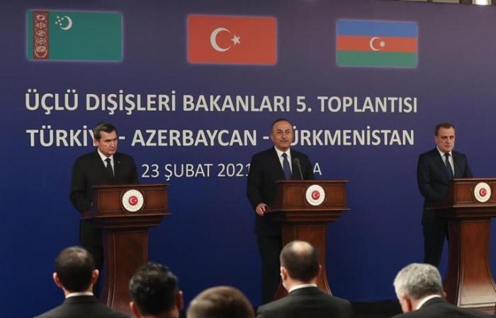 Turkey, Azerbaijan and Turkmenistan hold trilateral meeting