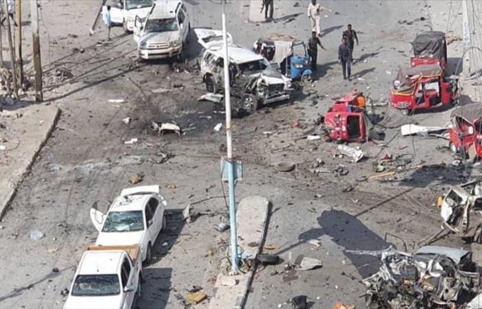 Suicide car bomb rocks Mogadishu