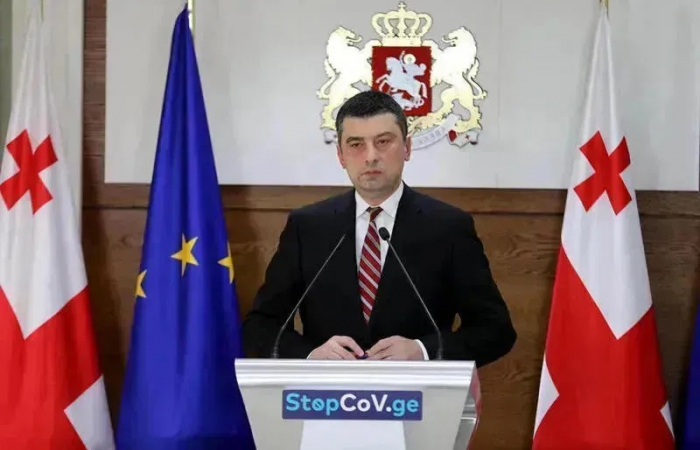 Georgian prime minister Giorgi Gakharia resigns