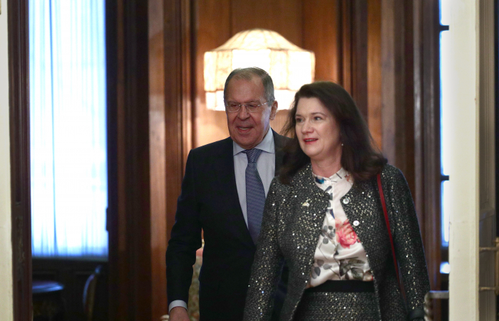 Ann Linde holds talks with Lavrov on European Security
