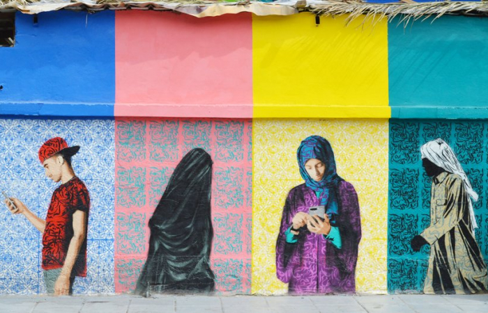 Saudi youth get creative on the walls