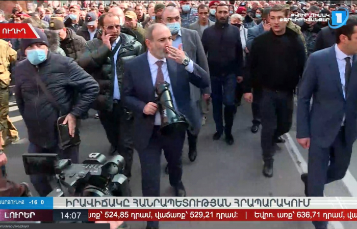 Stand-off between Army and government in Armenia