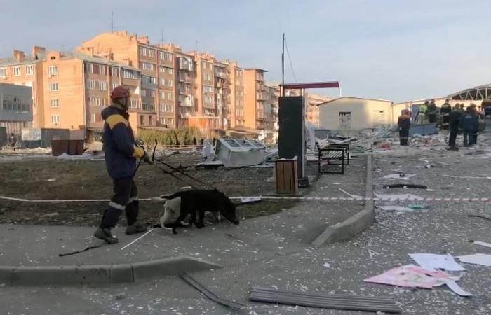 Explosion at Vladikavkaz supermarket