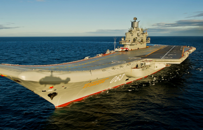 "Russia's only aircraft carrier, ""the Admiral Kuznetsov"" embroiled in shipyard corruption scandal whilst under repair"