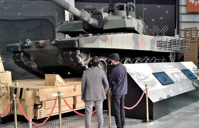 Turkey's main battle tank to have a locally made engine