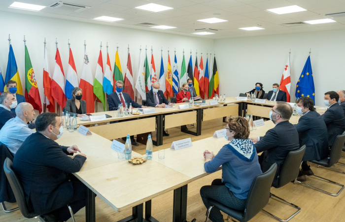 EU-mediated talks in Georgia paused