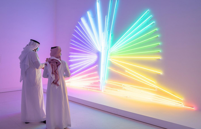 Open-air gallery highlights Saudi Arabia's past and future