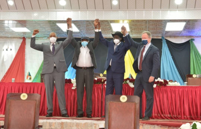 Sudan signs deal with rebel group on establishing a secular state