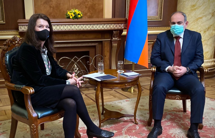 Ann Linde in Yerevan finds support for continued role of Minsk Group in Karabakh settlement process