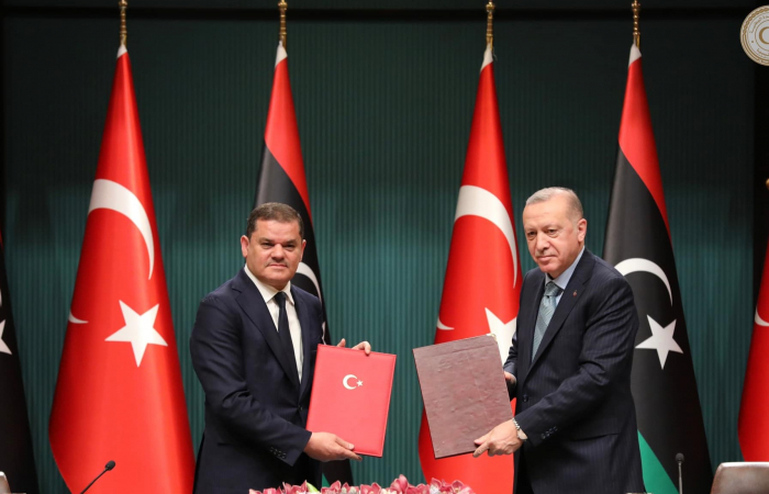 Libya and Turkey sign MoUs on various issues