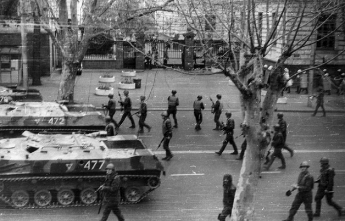Georgia marks anniversary of 9 April 1989