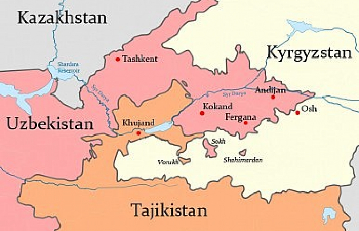 Clashes on the border between Tajikistan and Kyrgyzstan