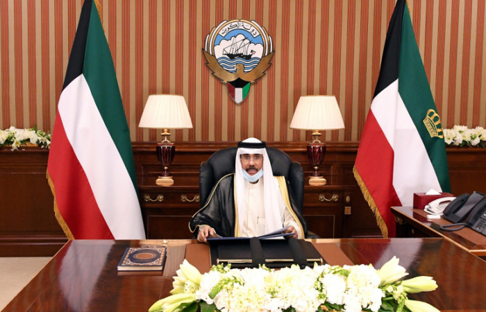 "Emir of Kuwait calls on the country to remain committed to the ""democratic approach"""