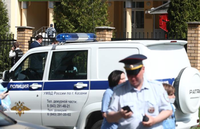 Children killed in shooting at Russian school in Kazan