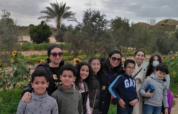 In Egypt, a local organic farm helps bring the community together