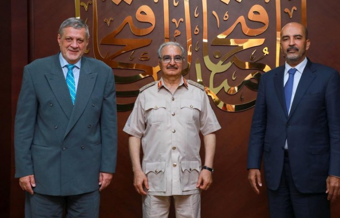Unifying the armed groups into a national army a priority for Libya