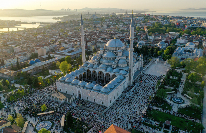 Muslims celebrate Eid al-Fitr, also know as Ramadan Bayram, under the shadow of pandemic and Palestinian crisis