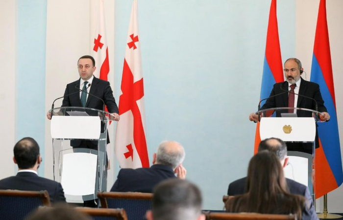 Regional issues dominate Armenian-Georgian talks in Yerevan