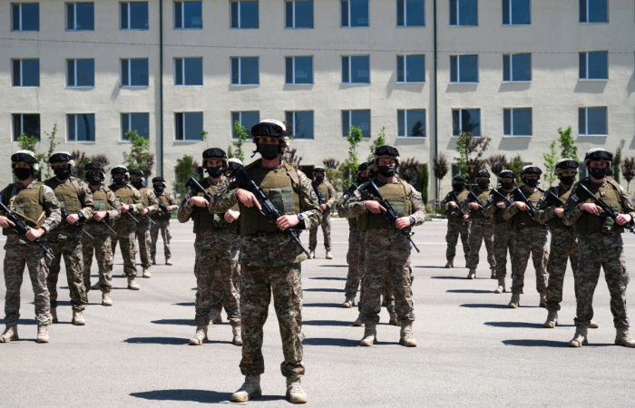Georgian forces start withdrawing from Afghanistan