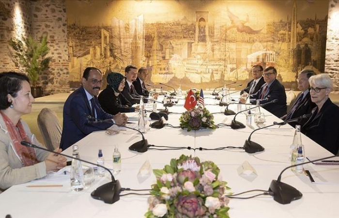 US and Turkey discuss regional issues ahead of Biden-Erdogan summit